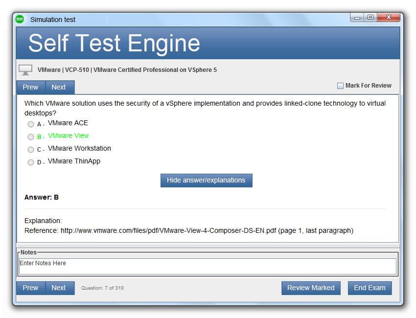 NCP-EUC Desktop Test Engine